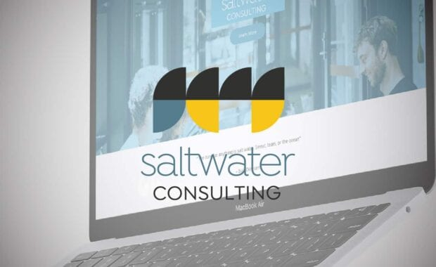 Saltwater Consulting Brand Identity